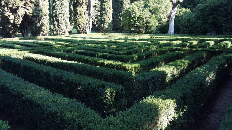 Verona insolita giardini giusti