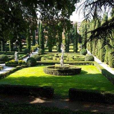 Verona insolita. Giardini Giusti