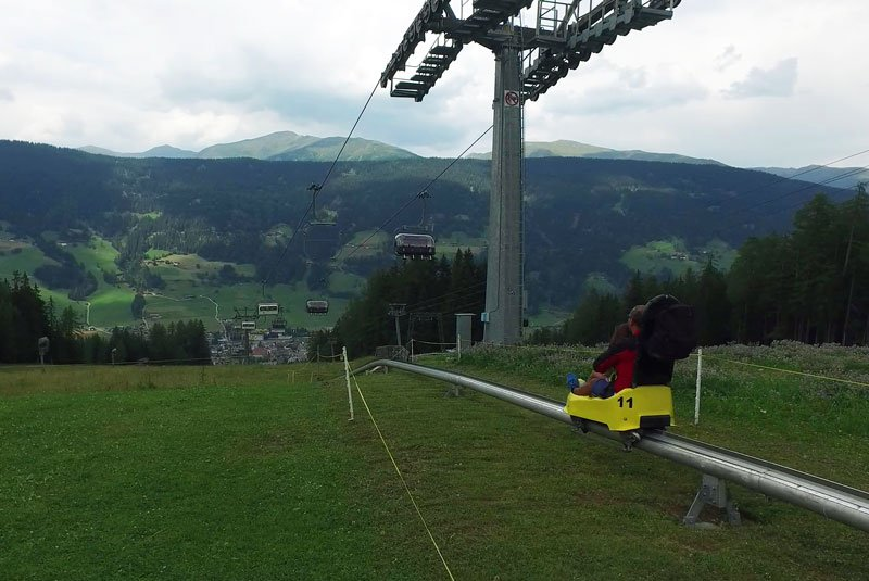 Funbob a San Candido in Alta Pusteria