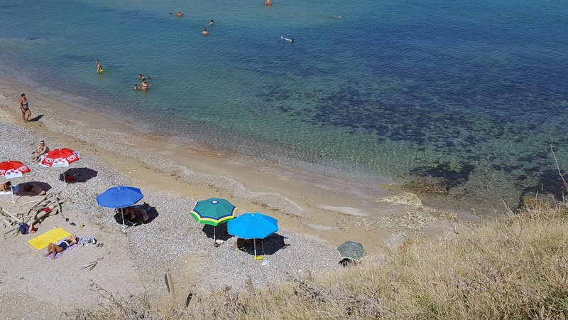Punta Aderci lungo la costa fra Abruzzo e Molise