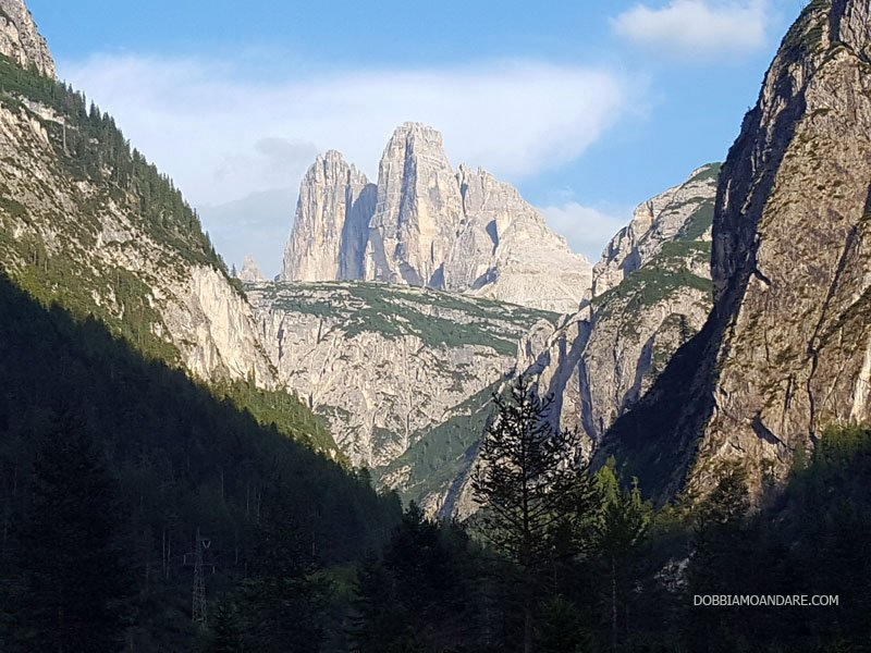 Belvedere sulle Pareti Nord delle Tre Cime - Alta Pusteria