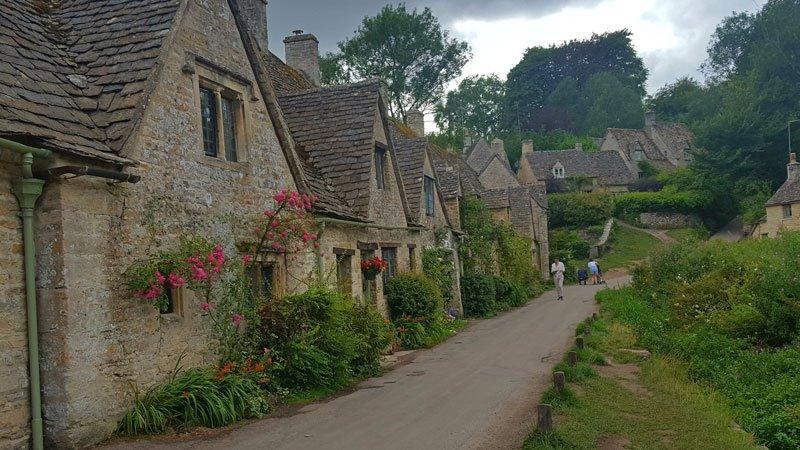 Bibury, il più bel villaggio d'Inghilterra.