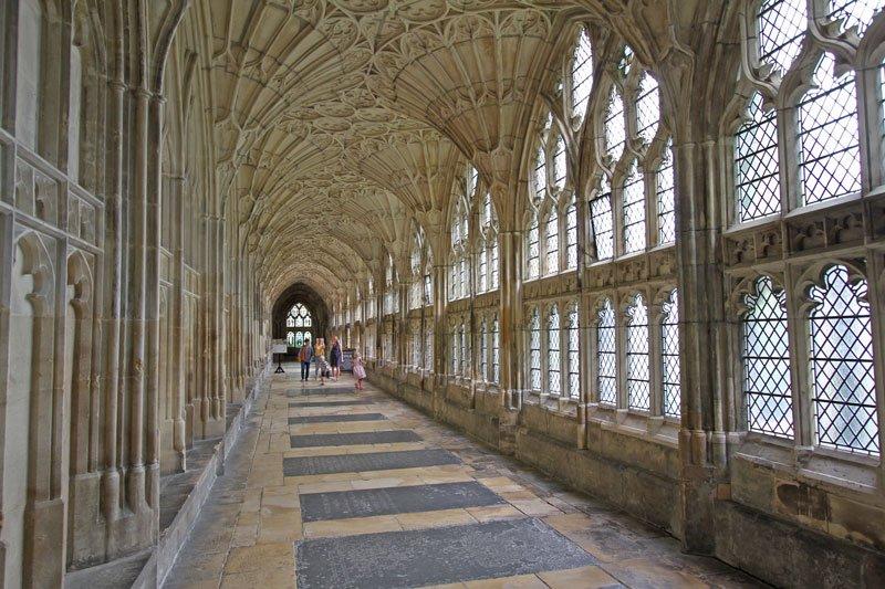 Cattedrale di Gloucester - Inghilterra del sud