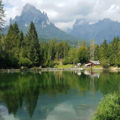 Lago Welsperg nel Parco del Paneveggio