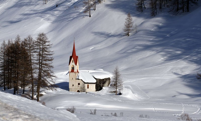 Valle Aurina in inverno
