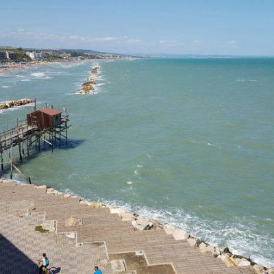 Itinerario lungo la costa fra Abruzzo e Molise